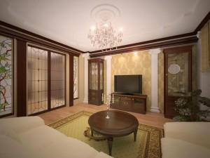 классический стиль дизайна квартиры
