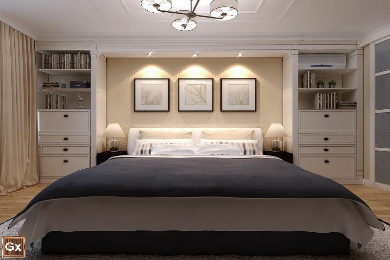 Классический дизайна спальни квартиры