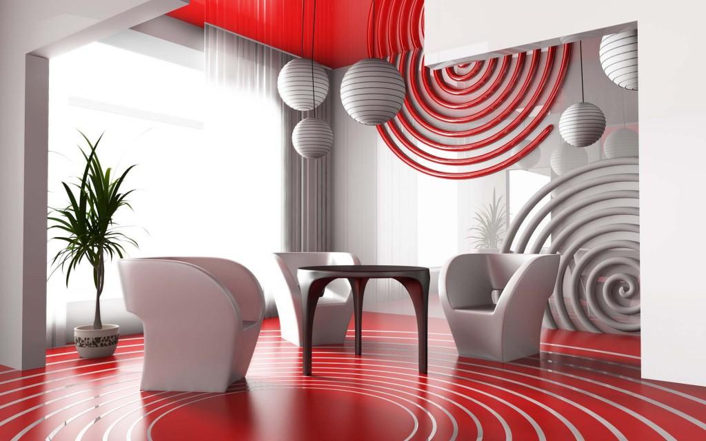 Стиль дизайна интерьера Авангард