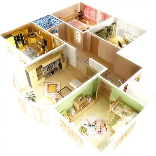 визуализация дизайн-проекта квартиры
