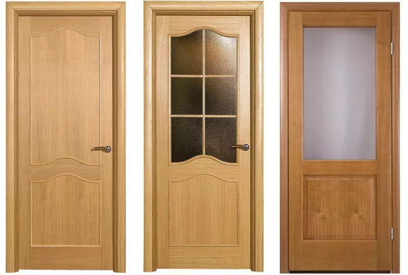 Шпонированные двери из древесно-плитных материалов