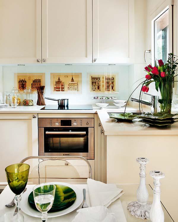 Весенний дизайн кухни