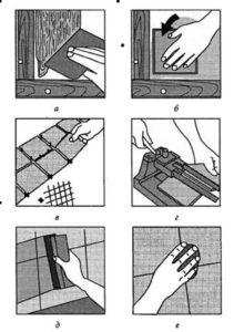 Технология укладки керамической плитки