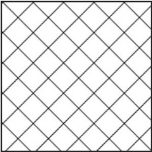Диагональная облицовка стен