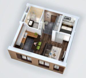 Однокомнатная квартира, точно продам?