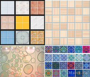 Выбор керамической плитки для стен