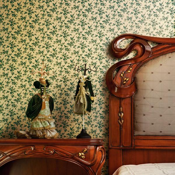 Обои Loymina коллекции Boudoir в интерьере