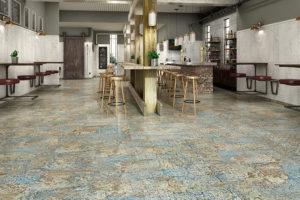 Керамическая плитка Aparici Carpet в интерьере
