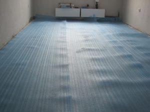 Подложка линолеума на бетонный пол