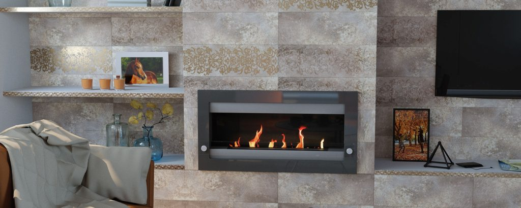 Керамическая плитка Нефрит Керамика Гордес в интерьере