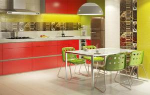 Плитка Парадиз Vivida в интерьере кухни