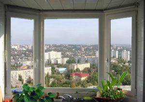 Пластиковые окна Саламандер в интерьере