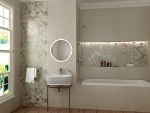 Керамическая плитка Gracia Ceramica Giardino в интерьере