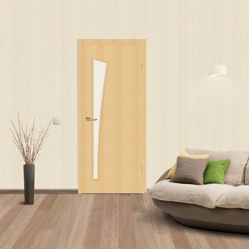 Межкомнатная дверь Belleza в интерьере