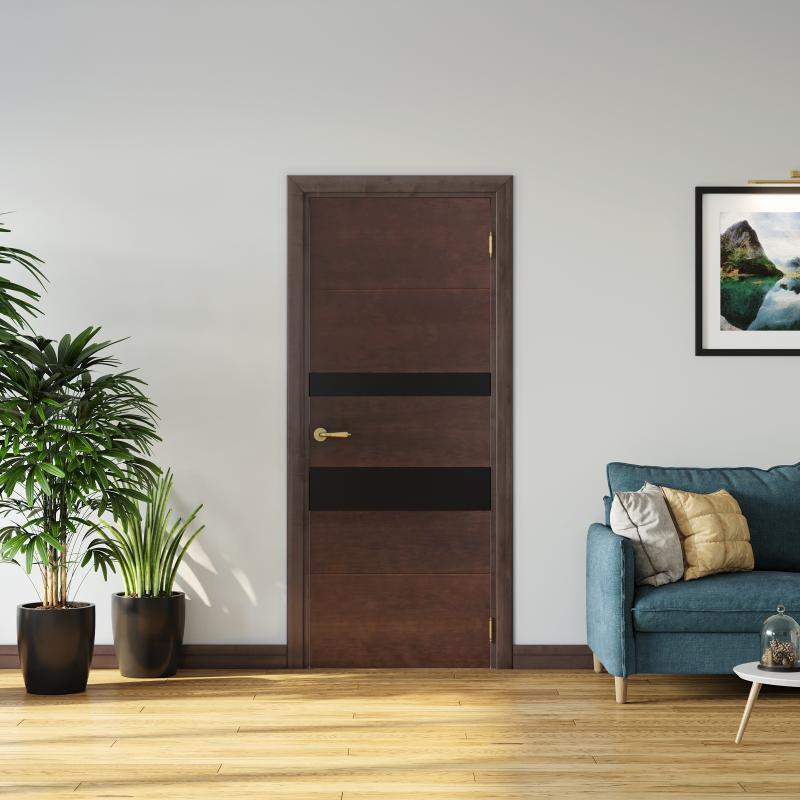 Межкомнатная дверь Модерн в интерьере