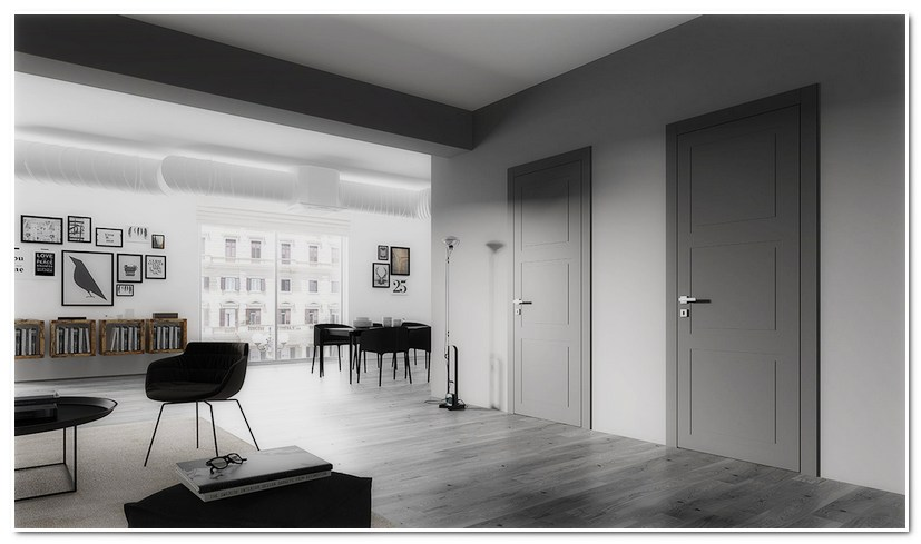 Межкомнатные двери Волховец NEO CLASSIC в интерьере