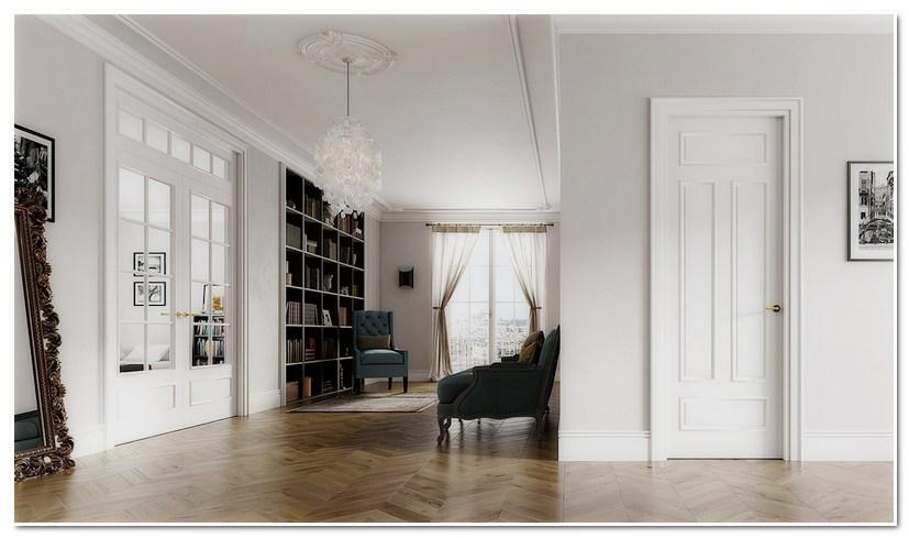 Межкомнатные двери Волховец PARIS в интерьере