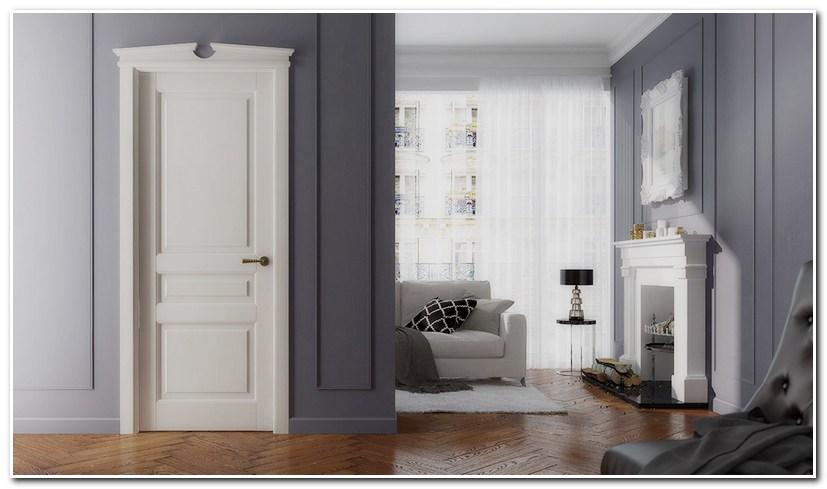 Межкомнатные двери Волховец TOSCANA PLANO в интерьере
